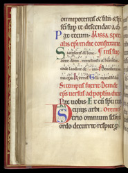 Mass for the Ordination of a Bishop, in a Pontifical from St Mungo's f.29v